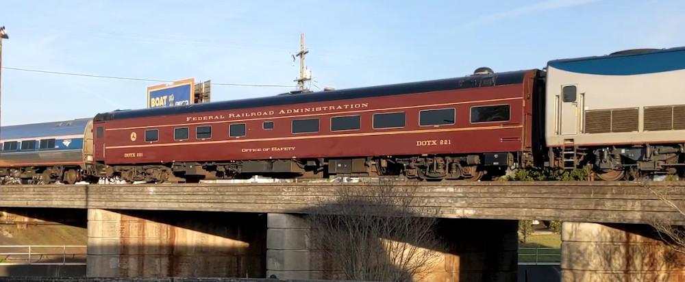 Amtrak Crescent Plus ATIP Car